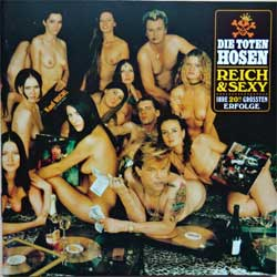 DIE TOTEN HOSEN ''Reich & Sexy'' (1993 Holland press, TOT 51/724383914128, vg+/ex) (CD)
