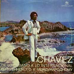 "винил LP CHAVEZ ""De Lo Сubano A Lo Internacional"" (Cuban press, vg+/vg+)"