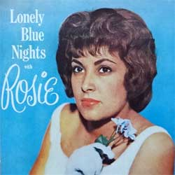 ROSIE & THE ORIGINALS ''Lonely Blue Nights With Rosie'' (1996 Italy press, GD-CD 950, mint/mint) (CD)