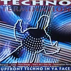 DANCE MIXERS ''Techno Termination'' (1994 Sweden press, 47661CD, matrix CD PLANT MFG, mint/mint) (CD) (D)