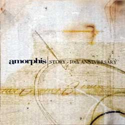 AMORPHIS ''Story - 10th Anniversary'' (2000 Finland ONLY press, spi 108 cd, matrix Sony DADC A0100342780-0101 13 A0, vg+/ex) (CD)