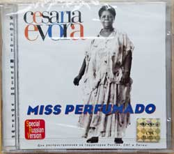 CESARIA EVORA ''Miss Perfumado'' (1992 RI Russian press, holographic numbered sticker, 74321970292, mint/mint, still sealed) (CD) (D)