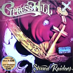 CYPRESS HILL ''Stoned Raiders'' (2001 Russian press, holographic numbered sticker, 5041710, ex/mint) (CD)