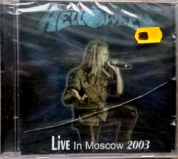 HELLOWEEN ''Live In Moscow 2003'' (2004 Russian RARE press, mint/mint, still sealed) (CD)