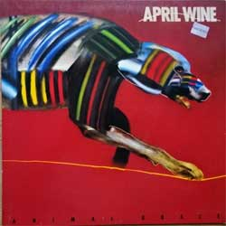 винил LP APRIL WINE ''Animal Grace'' (1984 German press, innersleeve, 1C064 2400831, vg+/ex)