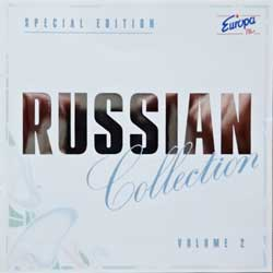 сборник RUSSIAN COLLECTION Volume 2 (1995 Austrian RARE press, special edition, hot silver foil stamping, 030 073-1, matrix DADC Austria, mint/mint) (CD)