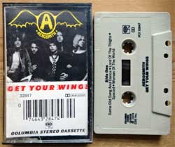 аудиокассета AEROSMITH ''Get Your Wings'' (1974 RI USA press, Dolby, PCT 32847, mint/mint) (MC3252)
