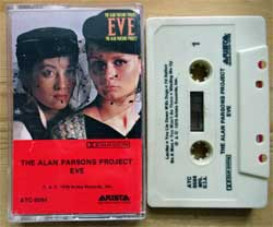 аудиокассета ALAN PARSONS PROJECT ''Eve'' (1979 USA press, Dolby, ATC 9504, near mint/near mint) (MC3253)