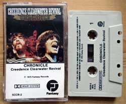 аудиокассета CREEDENCE CLEARWATER REVIVAL ''Chronicle (The 20 Greatest Hits)'' (1976 USA press, Dolby, 5CCR-2, barcode 02521800024, mint/ex+) (MC3267)