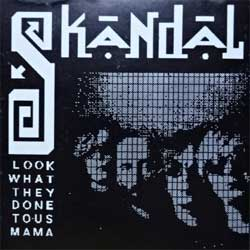 "СКАНДАЛ ""Look What They Done To Us Mama'' (1993 Russian MEGA RARE 1st press, RS93009, matrix UL 93109, ex/ex) (CD)"