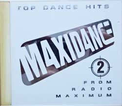 сборник MAXIDANCE-2 (1997 Czech RARE press, white jewel-case with silver engraved lines, JSP 010-127-2, matrix GZ I52210, vg/ex-/ex) (CD)