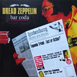 DREAD ZEPPELIN ''Bar Coda'' (2007 Russian press, DMV 172, ex/mint) (CD)