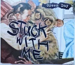 GREEN DAY ''Stuck With Me'' (1995 German press, 9362 43634-2, vg+/mint) (CD)
