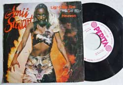 винил LP AMII STEWART ''Light My Fire/137 Disco Heaven'' (7''single) (1979 Hungarian RARE press, SPSK 70399, vg+/vg+)