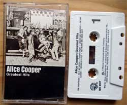 аудиокассета ALICE COOPER ''Greatest Hits'' (1974 RI USA press, M5 3107, barcode 07599273304, mint/mint) (MC3354)