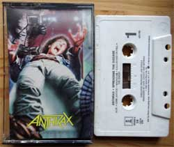 аудиокассета ANTHRAX ''Spreading The Decease'' (1985 USA press, SR, Dolby HX PRO, 790480-4, barcode 07567904804, ex/ex) (MC3358)