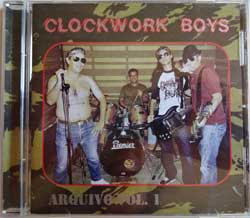 CLOCKWORK BOYS ''Arquivo Vol.1'' (2009 EU press, limited edition 1000 copies, handnumbered, mint/mint, new) (CD)