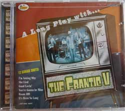 FRANTIC V ''A Long Play With The Frantic V'' (2004 Greece press, new, sealed) (CD)