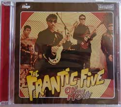 FRANTIC V ''On The Move'' (2007 Greece press, new, sealed) (CD)