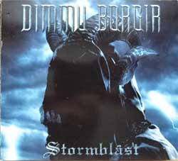 DIMMU BORGIR ''Stormblast''  (2005 German press, bonustracks, 27361 15450/NB 1454-0, Technicolor, vg+/near mint/vg+) (digipak) (CD+DVD)