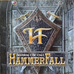 HAMMERFALL ''Heeding The Call'' (1998 German press, postcard, 27361 63332/NB 333-2, DOCdata Germany, mint/mint) (CD)