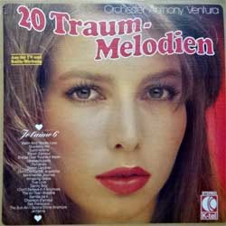 винил LP ANTHONY VENTURA ORCHESTER ''20 Traum-Melodien'' (1977 German press, innersleeve, textured, TG 1163, vg+/ex+)