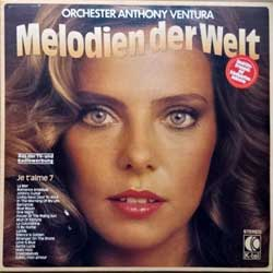 винил LP ANTHONY VENTURA ORCHESTER ''Je T'Aime 7 (Melodien Der Welt)'' (1978 German press, textured, TG1193, vg+/ex+)