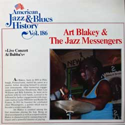 винил LP ART BLAKEY & THE JAZZ MESSENGERS ''Live Concert At Bubba's'' (1983 German press, B/2686, ex+/ex+)