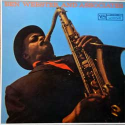 винил LP BEN WEBSTER ''Ben Webster And Associates'' (1959 RI German press, innersleeve, 2304 221, ex+/mint)