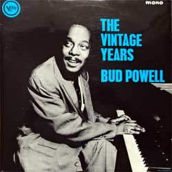 винил LP BUD POWELL ''The Vintage Years'' (1965 UK press, laminated, VLP 9075, ex+/ex+)