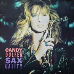винил LP CANDY DULFER ''Saxuality'' (1990 German press, innersleeve, 210.696, vg+/ex)