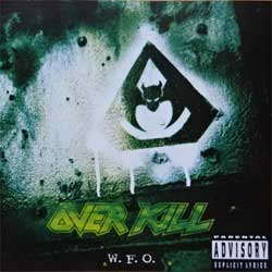 OVERKILL ''W.F.O.'' (1994 RI German press, 7567-82630-2, matrix 756782630-2.3 V01 QHT, mint/mint) (CD)