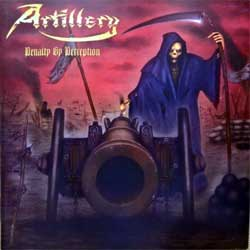 ARTILLERY ''Penalty By Perception'' (2016 Russian press, FO1208CD, mint/mint, new)(CD)