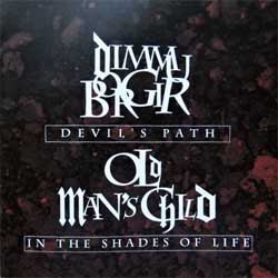 DIMMU BORGIR ''Devil's Path''/OLD MAN'SCHILD ''In The Shades Of Life'' (2000 RI 2002 RI Russian press, FO200CD, mint/mint, new)(CD)