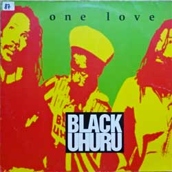 винил LP BLACK UHURU ''One Love'' (4-track 12'') (1993 German RARE press, PR-Copy sticker, 8122-76018-0, near mint/ex-)
