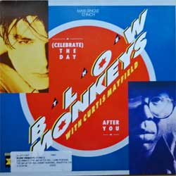 винил LP BLOW MONKEYS with CURTIS MAYFIELD ''(Celebrate) The Day After You'' (3-track 12'') (1987 German press, PT41380, ex+/ex)