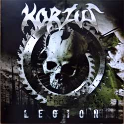 KORZUS ''Legion'' (2014 Russian press, FO1105CD, mint/mint, new)(CD)