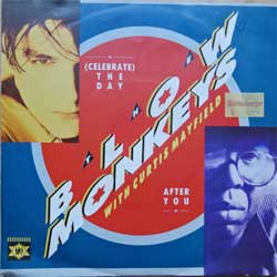 винил LP BLOW MONKEYS with CURTIS MAYFIELD ''(Celebrate) The Day After You'' (7''single) (1987 German press, PB41379, ex/ex)