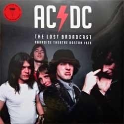 "винил LP AC/DC ''The Lost Broadcast"" Paradise Theatre Boston 1978'' (2017 EU RARE press, limited edition on RED VINYL. PARA113LP, new, sealed)"