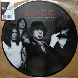 винил LP AC/DC ''Cleveland Rocks: The Ohio Broadcast 1977'' (picture-disc) (2016 EU press, limited edition 2000 copies, PVC-packet with original sticker, PARA048PD, mint/mint, new)
