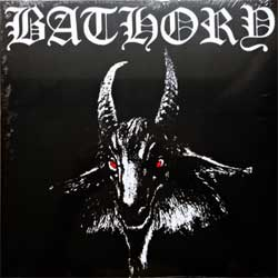 винил LP BATHORY ''Bathory'' (1984 RI 2010 Sweden press, heavy 180 gr vinyl, BMLP666-1, barcodes 4012743000113, 602276000112, new, sealed)