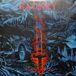 винил LP BATHORY ''Blood On Ice'' (2LP) (1996 RI 2013 Sweden press, heavy 180 gr vinyl, BMLP66612, new, sealed)