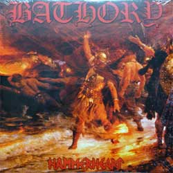 винил LP BATHORY ''Hammerheart'' (2LP) (1990 RI 2013 Sweden press, heavy 180 gr vinyl, BMLP666-5, new, sealed)