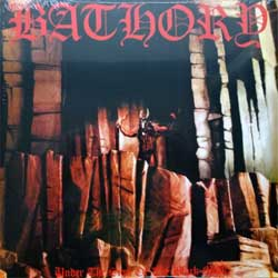 винил LP BATHORY ''Under The Sign Of The Black Mark'' (1987 RI 2014 Sweden press, heavy 180 gr vinyl, BMLP66-3, new, sealed)