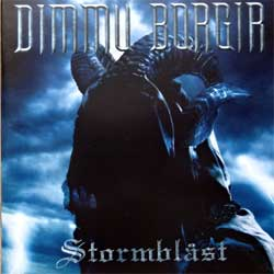 DIMMU BORGIR ''Stormblast'' (2005 Russian press,bonustracks, IROND CD 05-1089, mint/mint, new)(CD)