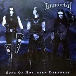 IMMORTAL ''Sons Of Northern Darkness'' (2002 Russian press, IROND CD 02-183, mint/mint, new)(CD)