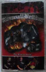 аудиокассета KRAWALL BRUDER ''Die Fauste hoch'' (2004 Neuroempire press, sealed)(MC177)