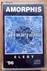 аудиокассета AMORPHIS ''Elegy'' (1996 Russian press, 179, ex/ex) (MC2000)