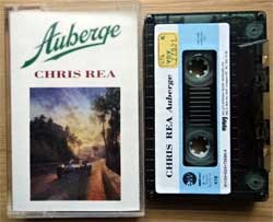 аудиокассета CHRIS REA ''Auberge'' (1991 Turkey RARE press, 73580-4, near mint/mint) (MC2006)