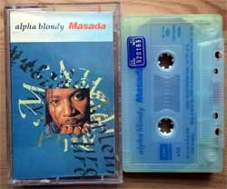 аудиокассета ALPHA BLONDY ''Masada'' (1992 Turkey RARE press, TCP 2555/7986204, mint/mint) (MC2012)